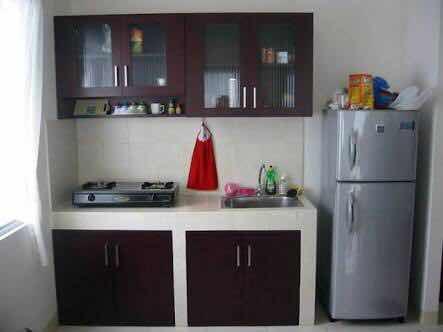 Inspirasi Dapur Kecil Minimalis Untuk