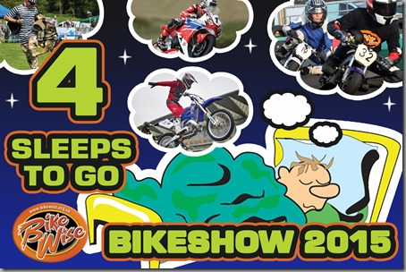 Bikewise Countdown (4 sleeps) Graphic