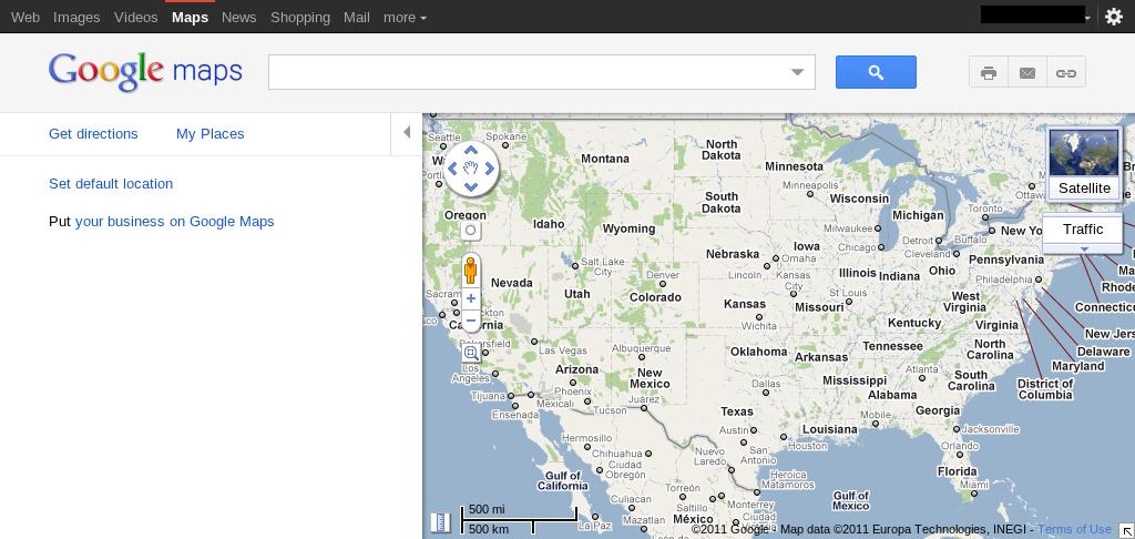 Google Maps mit neuem Design - GWB