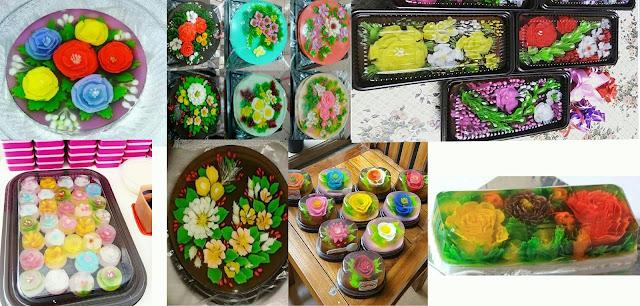 Jelly Art Bangil dan Puding Jelly 3D