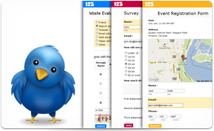 Twitter integration for your 123ContactForm web forms