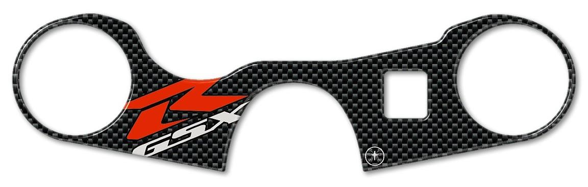 Sticker 3D Plate Steering Compatible with Suzuki GSX Fa 1250 Bandit