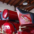 Detalle del carro de bomberos