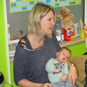 K1A - baby Warre van Linde op bezoek