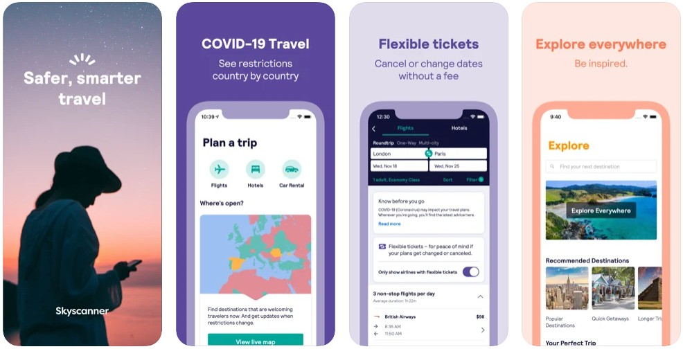 Skyscanner – travel deals