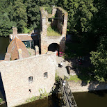 Brederode Castle in Velsen, Noord Holland, Netherlands