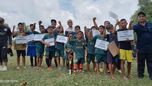 Pringsewu Football School Gelar Laga Persahabatan