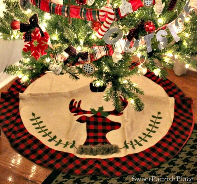 My Plaid Inspired Christmas Tree Sweet Parrish Place