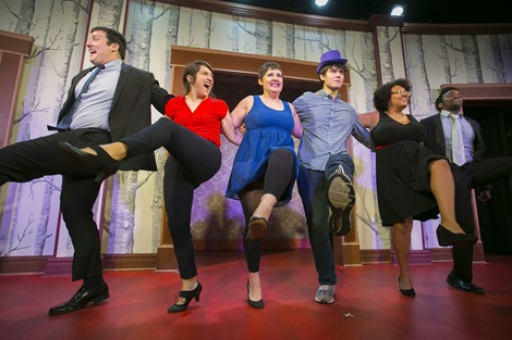10/24/15 4:18:51 PM -- Second City RedCo Touring Company  Cast: Ali Barthwell, Kelsey Kinney, Marton Morrow, Charles Pettitt, Jasbir Singh, Casey Whitaker   . © Todd Rosenberg Photography 2015
