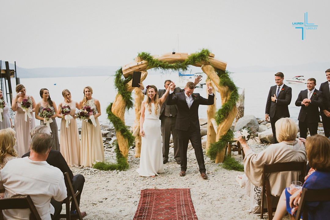 Tahoma Boat House Wedding