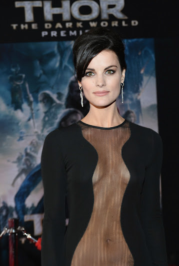Jaimie Alexander at the Thor: The Dark World Red Carpet Premiere #ThorDarkWorldEvent