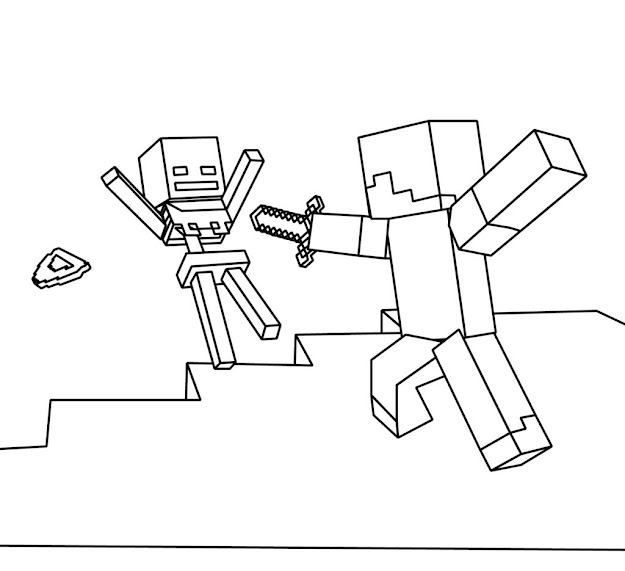 Minecraft Coloring Pages Getcoloringpages Minecraft Coloring Pages Alex Minecraft  Coloring Pages Color By Number