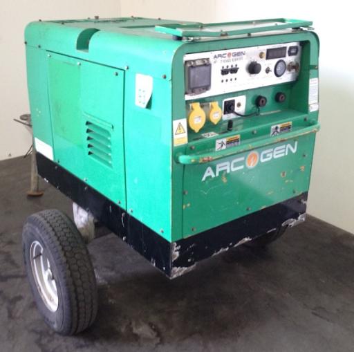 Diesel Soldador Generador, Arcgen 300A,