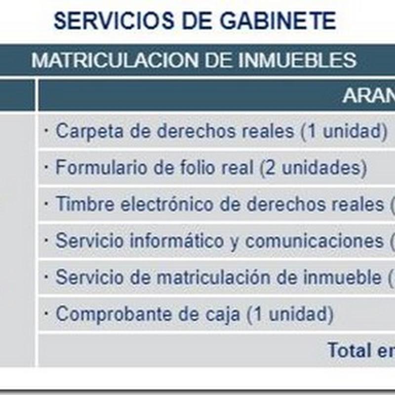 """Bolivia: Requisitos y costos para realizar la """"Matriculación de Inmuebles"""" a través de Servicios de Gabinete en Derechos Reales"""