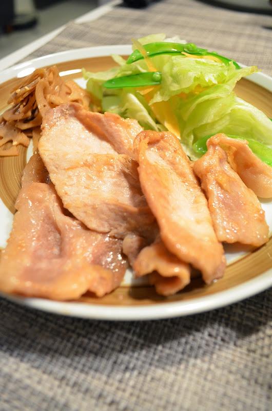 タモさんの生姜焼き