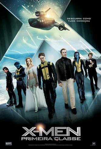 X-Men - Primeira Classe - Pôster nacional