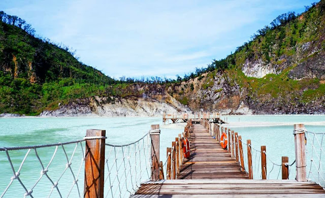 tempat wisata kawah putih bandung