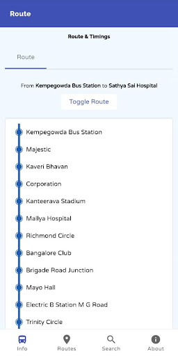 MAJESTIC BMTC HUB - Find Platform & Airport Buses screenshot 2