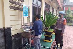 Disiplinkan Penerapan Protokol Kesehatan, Polres Barito Utara Laksanakan Terhadap Personelnya