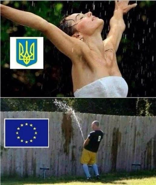 EU läßt Geld auf Ukraine regnen