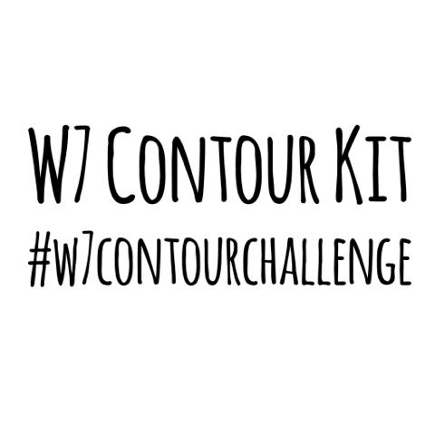 W7 Contour Kit for the #w7contourchallenge