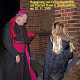 Begegnung und Gremiengespräch mit Bischof  Bode in Sondermühlen am 20.11.2009