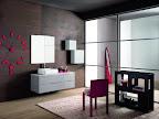 mobile da arredo bagno Linea grigio chiaro composiz con lavabo soprapiano fuori tutto