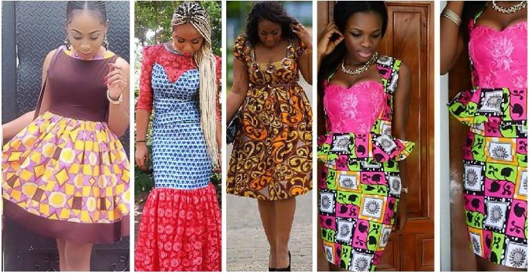 Ankara Gown Style: Asobi Ankara Short Dresses 2016