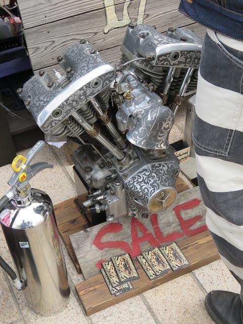門司港スワップミート-バイクのエンジン