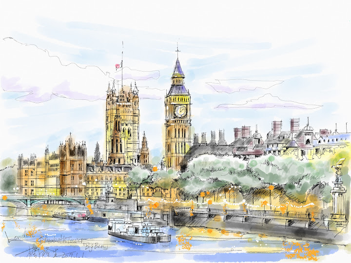 BIG BEN made with Sketches