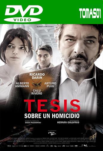 Tesis sobre un homicidio (2013) DVDRip