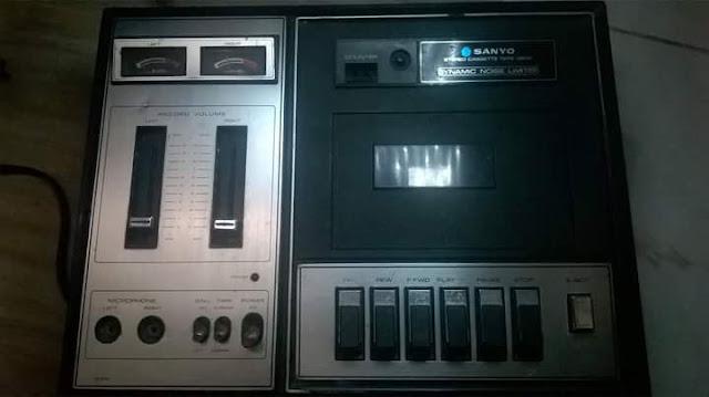Lapak Barang Antik : Jual Tape Jadoel Merk Sanyo - TANGERANG