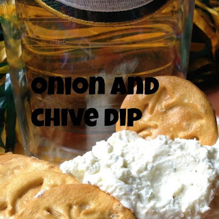 Onion and Chive Dip {Super Saturday Snack}