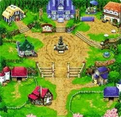 Walaupun di awal permainan kau harus menentukan salah satu desa Panduan Mengenai Bluebell HM TToTT