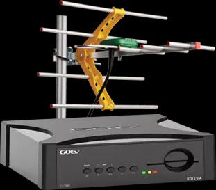 gotv decoder + antenna