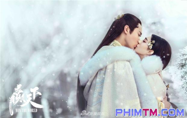 Ba Thanh (Phạm Băng Băng) gây tranh cãi vì nụ hôn với Tần Vương trong Thắng Thiên Hạ - Ảnh 2.