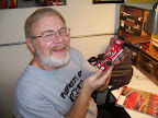 Jack Beers loves to paint slot car bodies.