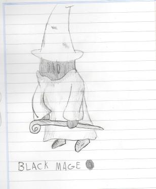 Mago Negro (Black Mage) Final Fantasy Img017