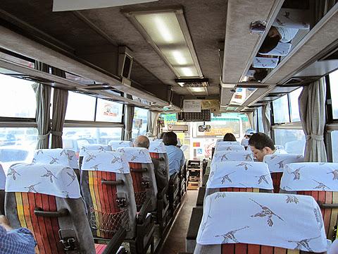 阿寒バス「釧路羅臼線」・・16 車内 その2
