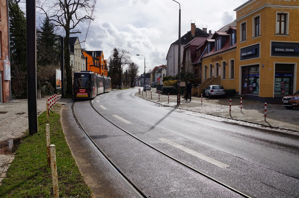 TRAM in Mahlsdorf