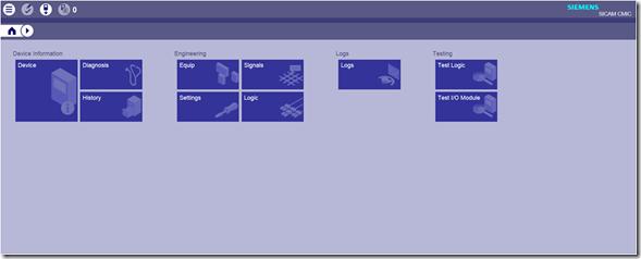 SICAM WEB - RTU A8000
