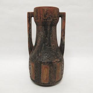 SIgned English Ceramic Vase