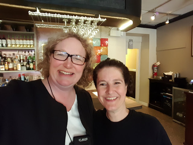 Waitstaff that feels like family at Tavola, St. John's, Newfoundland
