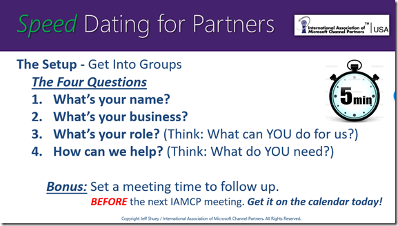 What To Talk About During Speed Dating