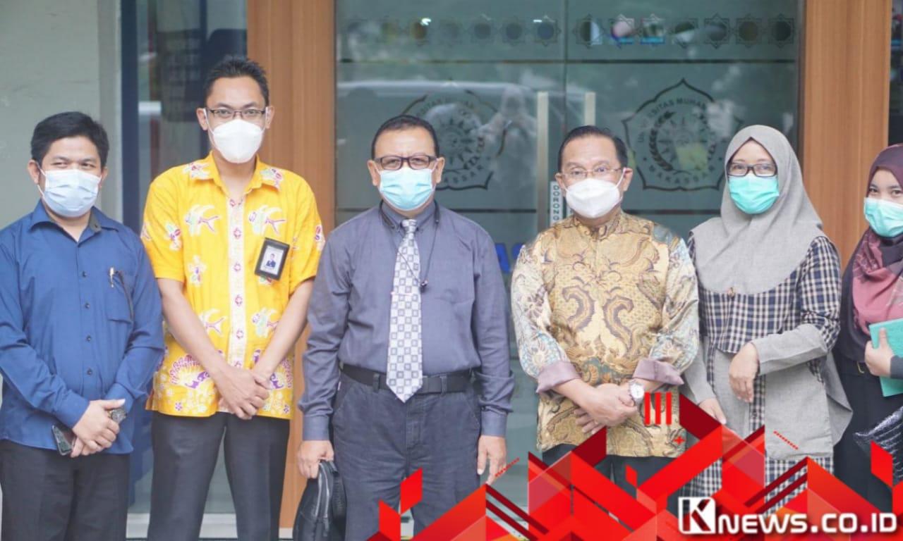 Silaturahim ke FK Unismuh, Ini Pesan Ketua LLDIKTI Prof Jasruddin