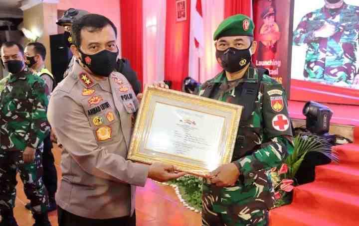 Resmikan Sitangkas, Kapolda Jateng Ungkapkan Pahlawan Tanda Jasa Dalam Penanganan Pandemi