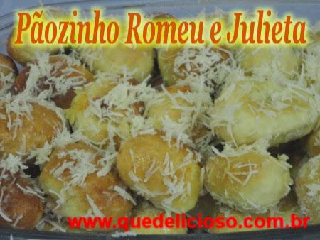 Pãozinho Romeu e Julieta