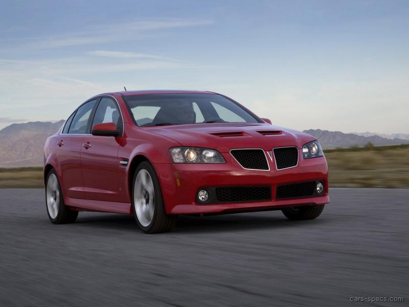 2008 Pontiac G8 Sedan Specifications Pictures Prices