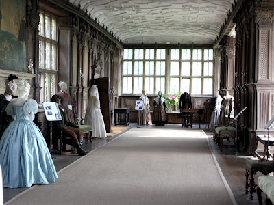 Long Gallery in Haddon Hall in Derbyshire