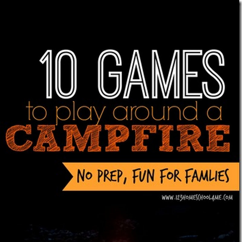 10 Games to Play Around a Campfire